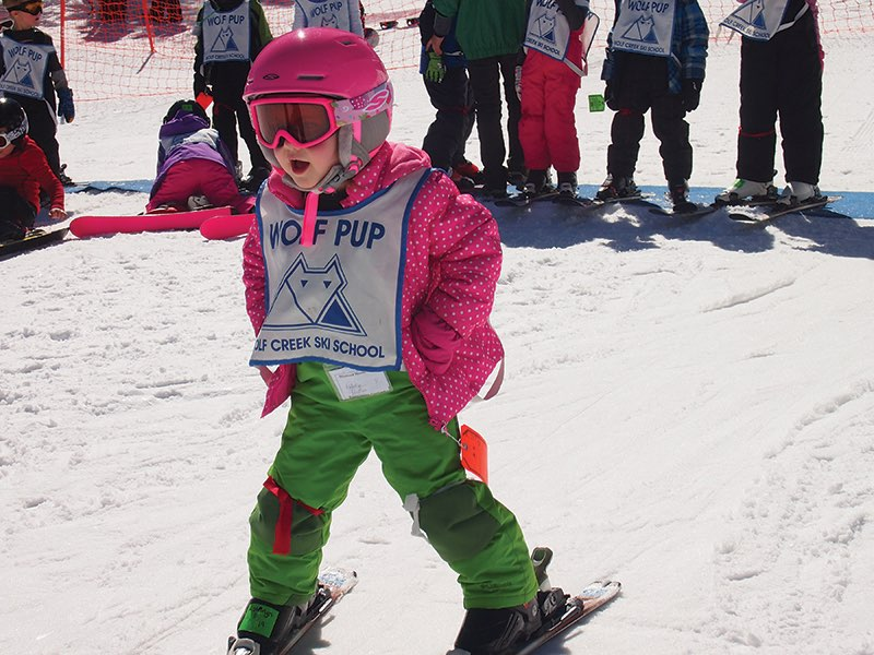 Wolf Creek Ski Area Wolf Pups Kids Lessons