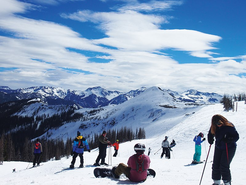 Wolf Creek Ski Area Mountain Top Skiers