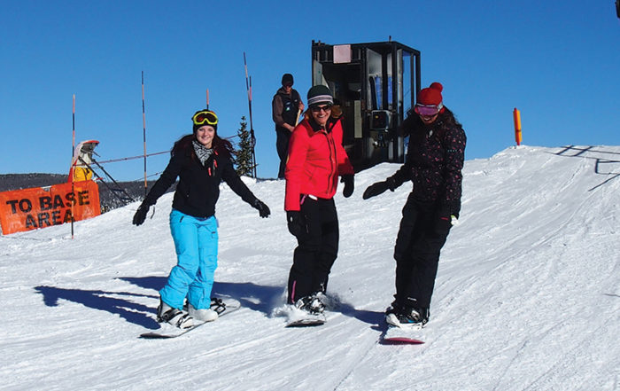 Wolf Creek Ski Area Snowboarding Chinook Cabins South Fork